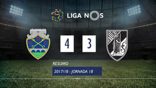 Liga NOS (18ªJ): Resumo GD Chaves 4-3 Vitória SC
