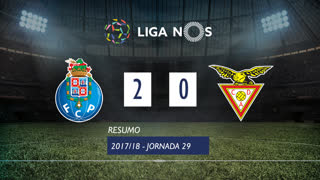 Liga NOS (29ªJ): Resumo FC Porto 2-0 CD Aves