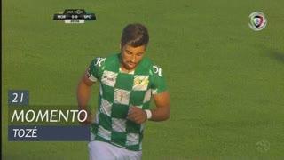 Moreirense FC, Jogada, Tozé aos 21'