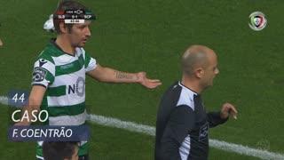 Sporting CP, Caso, Fábio Coentrão aos 44'