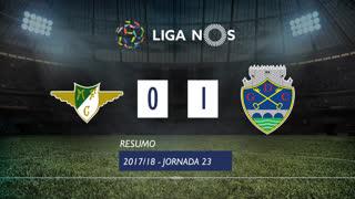 Liga NOS (23ªJ): Resumo Moreirense FC 0-1 GD Chaves