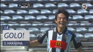 GOLO! Portimonense, S. Nakajima aos 14', Belenenses 0-1 Portimonense