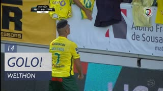 GOLO! FC P.Ferreira, Welthon aos 14', CD Feirense 0-1 FC P.Ferreira