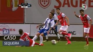 SC Braga, Caso, Sequeira aos 82'