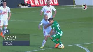 Moreirense FC, Caso, Tozé aos 67'