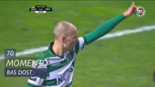 Sporting CP, Jogada, Bas Dost aos 70'