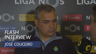 Liga (31ª): Flash interview José Couceiro