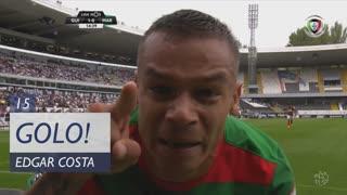 GOLO! Marítimo M., Edgar Costa aos 15', Vitória SC 1-1 Marítimo M.