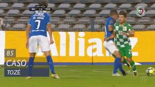 Moreirense FC, Caso, Tozé aos 85'