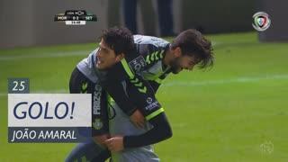 GOLO! Vitória FC, João Amaral aos 25', Moreirense FC 0-2 Vitória FC