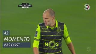 Sporting CP, Jogada, Bas Dost aos 43'