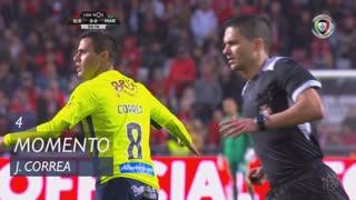 Marítimo M., Jogada, J. Correa aos 4'