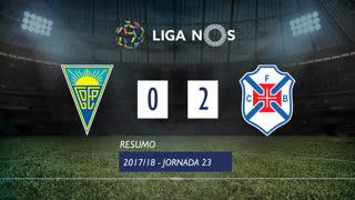 Liga NOS (23ªJ): Resumo Estoril Praia 0-2 Belenenses SAD