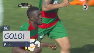 GOLO! Marítimo M., Joel aos 80', Marítimo M. 1-1 Moreirense FC