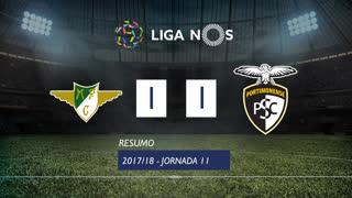 Liga NOS (11ªJ): Resumo Moreirense FC 1-1 Portimonense