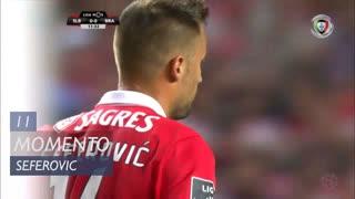 SL Benfica, Jogada, H. Seferovic aos 11'