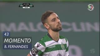 Sporting CP, Jogada, Bruno Fernandes aos 43'