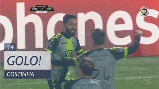 GOLO! Vitória FC, Costinha aos 34', CD Tondela 1-1 Vitória FC
