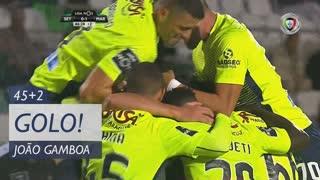 GOLO! Marítimo M., Gamboa aos 45'+2', Vitória FC 0-1 Marítimo M.