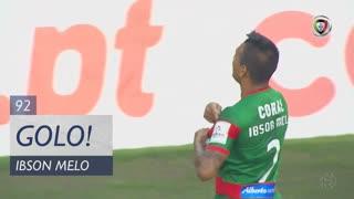 GOLO! Marítimo M., Ibson Melo aos 90'+2', Marítimo M. 1-0 Rio Ave FC