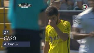 FC P.Ferreira, Caso, António Xavier aos 22'