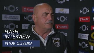 Liga (24ª): Flash interview Vítor Oliveira