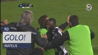 GOLO! Boavista FC, Mateus aos 90', Os Belenenses 1-1 Boavista FC
