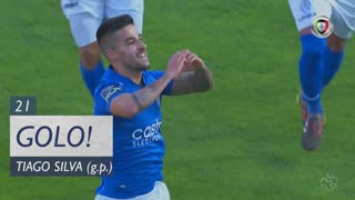 GOLO! CD Feirense, Tiago Silva aos 21', CD Feirense 1-0 Vitória FC