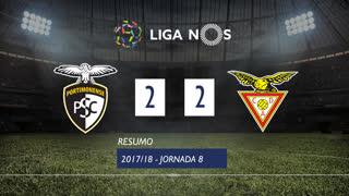 Liga NOS (8ªJ): Resumo Portimonense 2-2 CD Aves