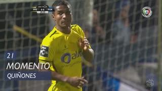 FC P.Ferreira, Jogada, Quiñones aos 21'