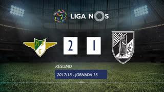 Liga NOS (15ªJ): Resumo Moreirense FC 2-1 Vitória SC
