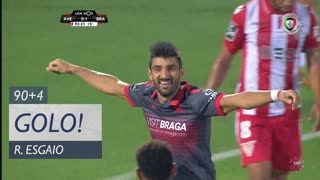 GOLO! SC Braga, Ricardo Esgaio aos 90'+4', CD Aves 0-2 SC Braga