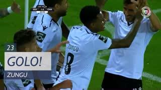 GOLO! Vitória SC, Zungu aos 23', Vitória SC 1-0 GD Chaves