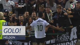 GOLO! Vitória SC, Heldon aos 45', CD Aves 1-2 Vitória SC