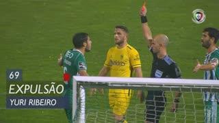Rio Ave FC, Expulsão, Yuri Ribeiro aos 69'