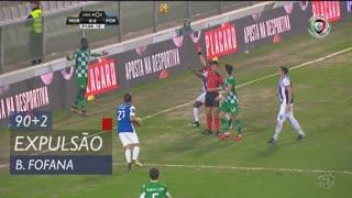 Moreirense FC, Expulsão, Boubacar Fofana aos 90'+2'