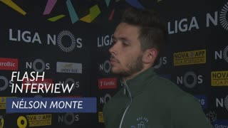 Liga (27ª): Flash interview Nélson Monte