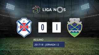 Liga NOS (12ªJ): Resumo Belenenses 0-1 GD Chaves