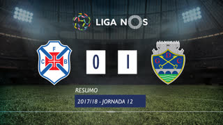 Liga NOS (12ªJ): Resumo Os Belenenses 0-1 GD Chaves