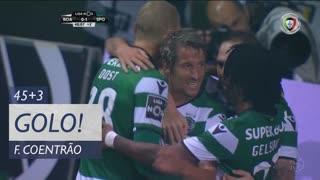 GOLO! Sporting CP, Fábio Coentrão aos 45'+3', Boavista FC 0-1 Sporting CP