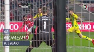 SC Braga, Jogada, Ricardo Esgaio aos 68'