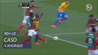 Estoril Praia, Caso, Victor Andrade aos 90'+10'