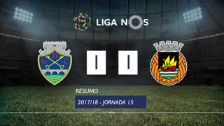 Liga NOS (15ªJ): Resumo GD Chaves 1-1 Rio Ave FC