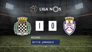 Liga NOS (8ªJ): Resumo Boavista FC 1-0 CD Feirense