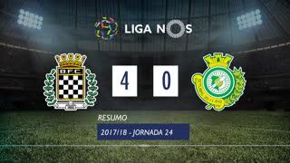 Liga NOS (24ªJ): Resumo Boavista FC 4-0 Vitória FC