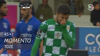 Moreirense FC, Jogada, Tozé aos 45'+1'
