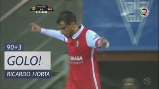 GOLO! SC Braga, Ricardo Horta aos 90'+3', Estoril Praia 0-6 SC Braga