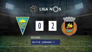 Liga NOS (11ªJ): Resumo Estoril Praia 0-2 Rio Ave FC
