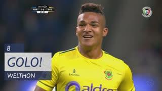 GOLO! FC P.Ferreira, Welthon aos 8', FC Porto 1-1 FC P.Ferreira