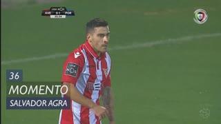 CD Aves, Jogada, Salvador Agra aos 36'